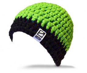 Beanie 2C GREEN/BLACK - XXL BOUNCE